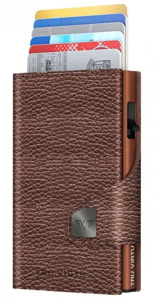 Bourse CLICK & SLIDE Brown Metallic/Brown