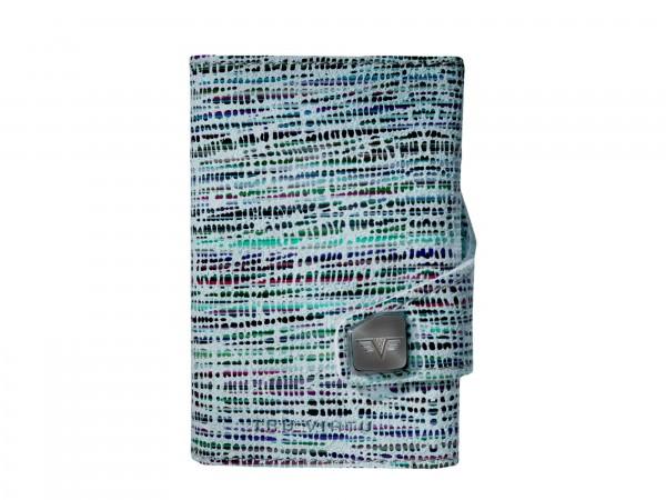 Portemonnaie CLICK & SLIDE Camouflage Green/Silver