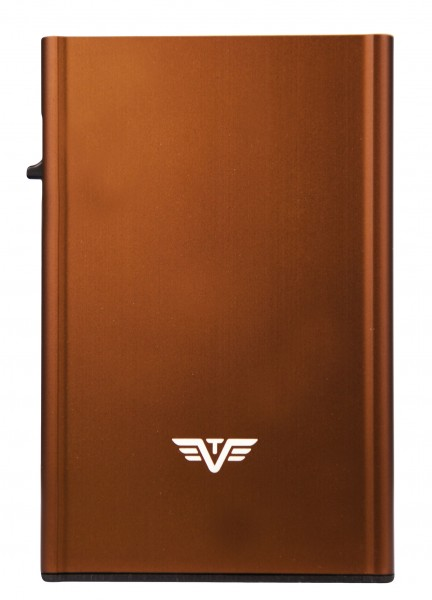 Karten Etui CLICK & SLIDE Brown