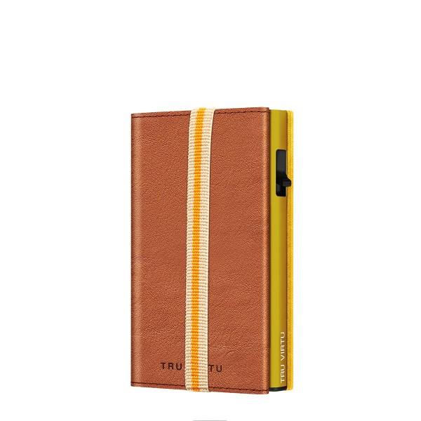 Wallet C&S Strap Edge Caramba Brown Sahara/Gold