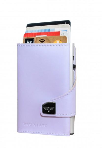 Portemonnaie CLICK & SLIDE Lilac Matt/Silver
