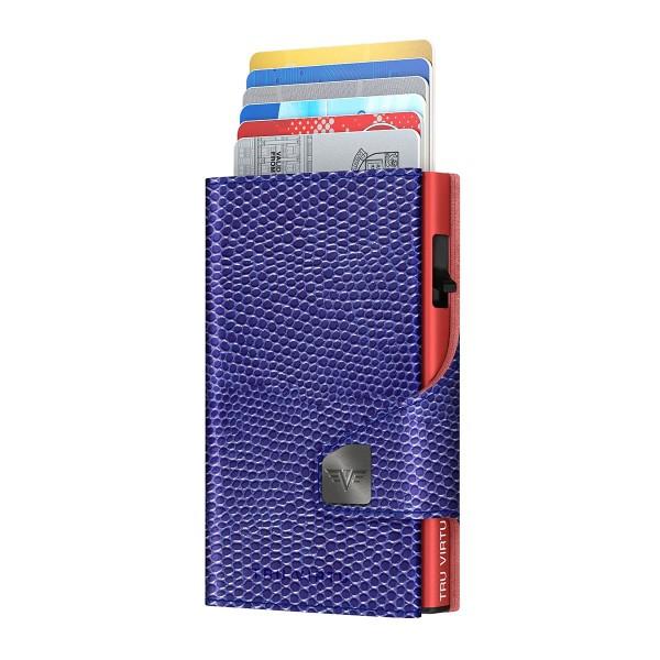Wallet CLICK & SLIDE Iguana Glossy Violet/Re
