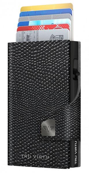 Monedero CLICK & SLIDE Iguana Glossy Black/Black