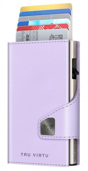 Monedero CLICK & SLIDE Lilac Matt/Silver