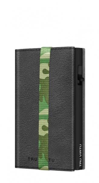 Wallet C&S Strap Edge Nappa Black Camouflage/Black