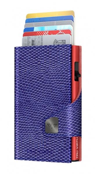 Portemonnaie CLICK & SLIDE Iguana Glossy Violet/Re