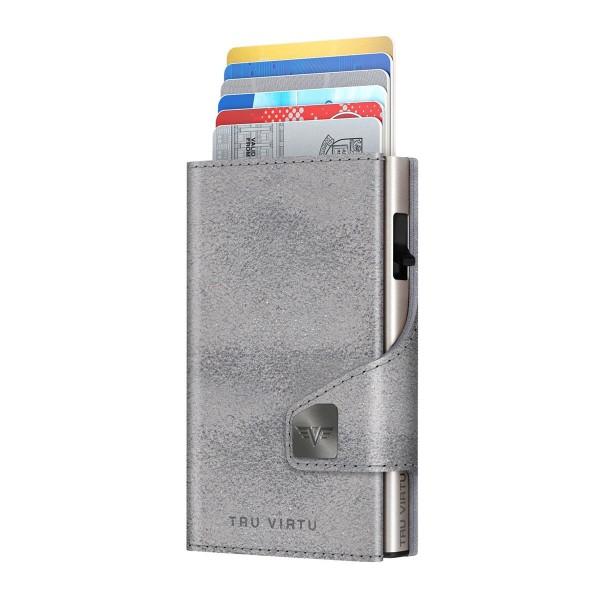 Bourse CLICK & SLIDE Glitter Silvergrey/Silver