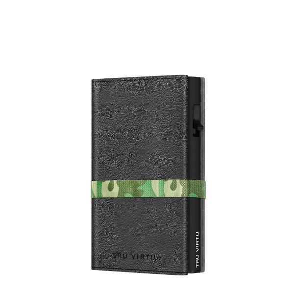Wallet C&S Strap Cross Nappa Black Camouflage/Bla