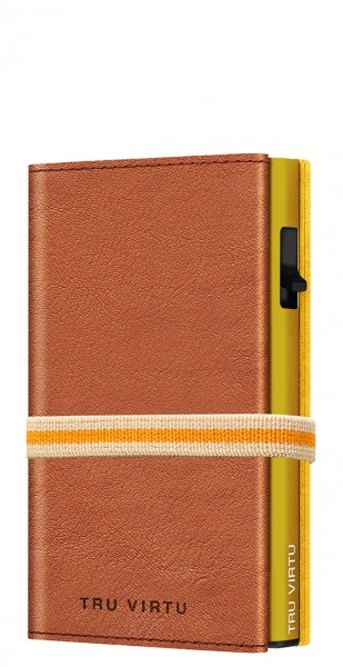 Wallet C&S Strap Cross Caramba Brown Sahara/Gold