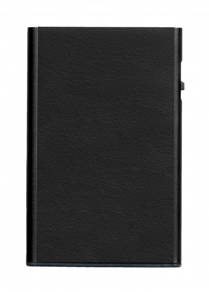 Card Case CLICK & SLIDE Nappa Black/Black