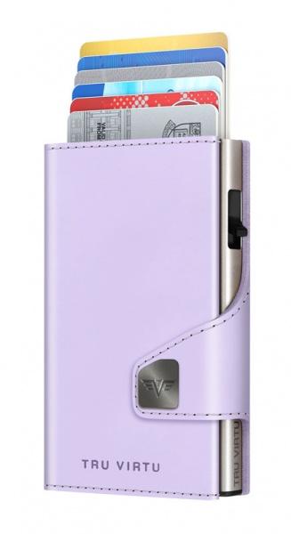 Bourse CLICK & SLIDE Lilac Matt/Silver