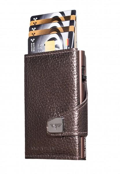 Click & Slide Brown Metallic/Brown