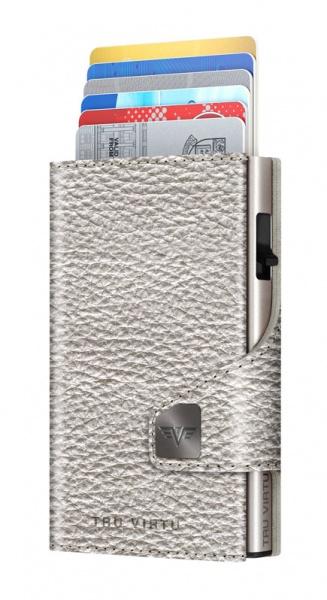 Wallet CLICK & SLIDE Silver Metallic/Silver