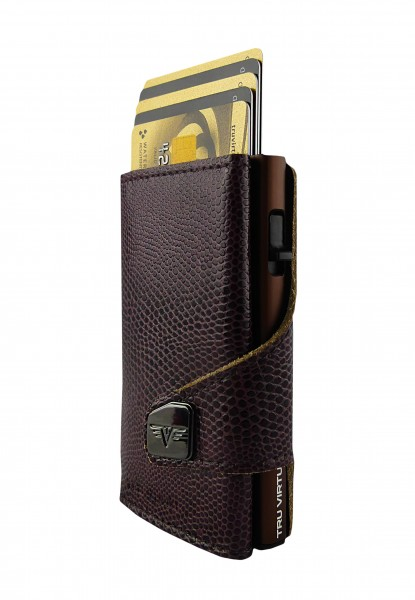 Click & Slide Iguana Glossy Blackberry/Brown