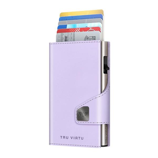 Wallet CLICK & SLIDE Lilac Matt/Silver
