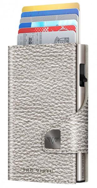 Portemonnaie CLICK & SLIDE Silver Metallic/Silver