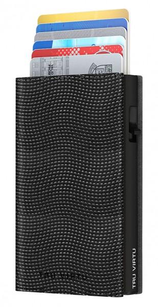 Wallet CLICK & SLIDE Sleek Lizard Black/Black