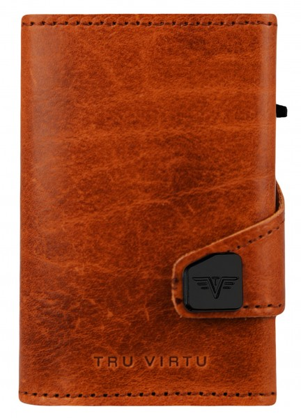 Portemonnaie CLICK & SLIDE Caramba Brown-Yell/Gold