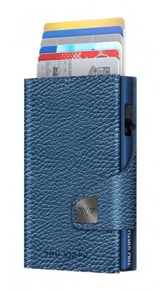 Wallet CLICK & SLIDE Navy Metallic/Titan