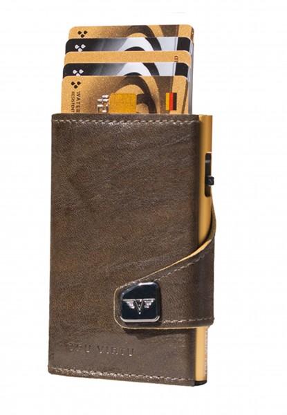 Portemonnaie CLICK & SLIDE Caramba Mossgreen-Y/Gol