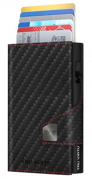 Wallet CLICK & SLIDE Hi-Tech RS Carbon Fi Bla/Red