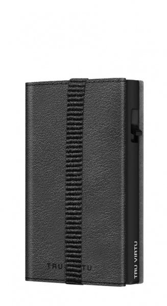 Wallet C&S Strap Edge Nappa Black Black/Black
