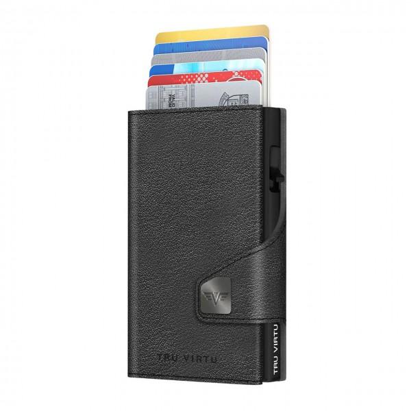 Wallet CLICK & SLIDE Nappa Black/Black