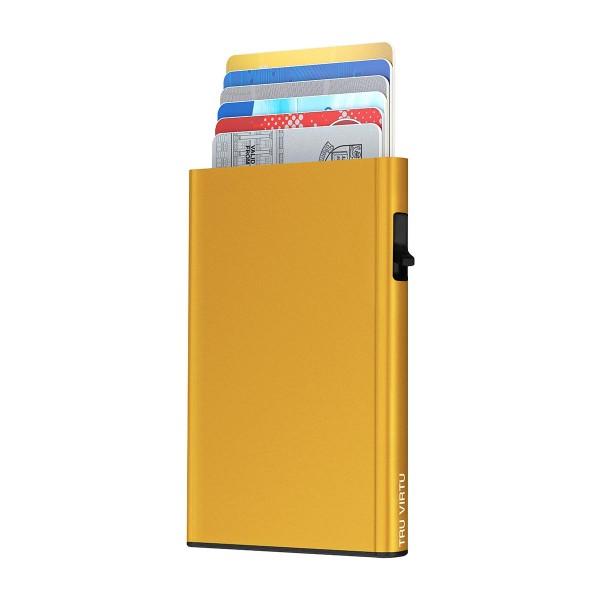 Card Case CLICK & SLIDE Gold
