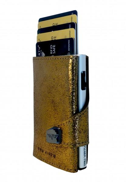 Click & Slide Glitter Goldbrown/Silver
