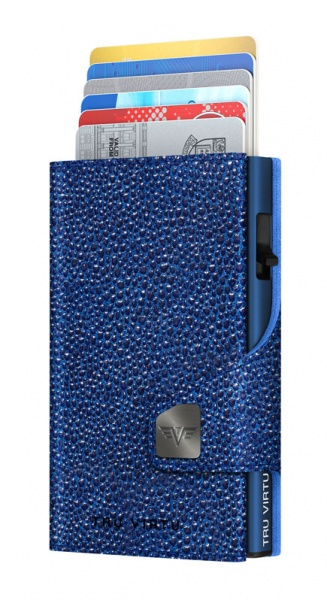 Wallet CLICK & SLIDE Sting Ray Blue/Titan