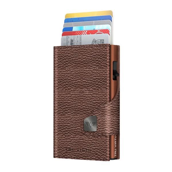 Wallet CLICK & SLIDE Brown Metallic/Brown