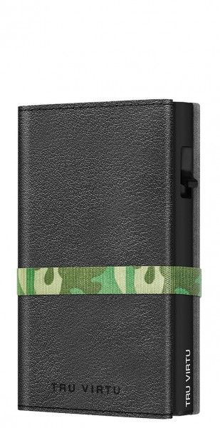 Wallet C&S Strap Cross Nappa Black Camouflage/Bla