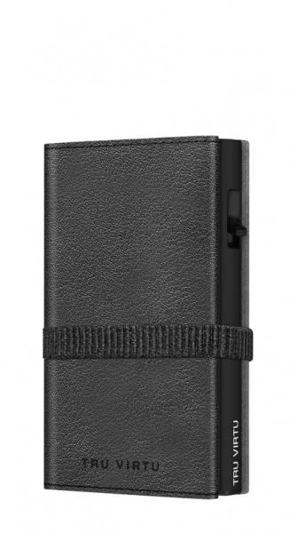 Wallet C&S Strap Cross Nappa Black Black/Black