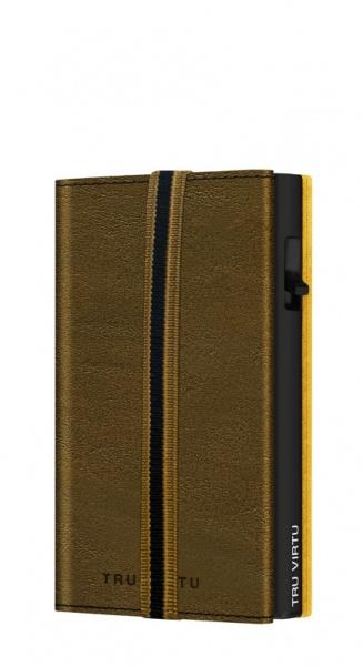 Wallet C&S Strap Edge Caramba Mossgreen Earth/Blac